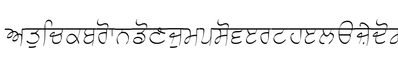 Preview of Choti Script L3 Light Light