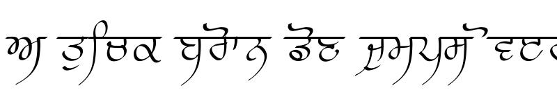 Preview of Prabhki Regular