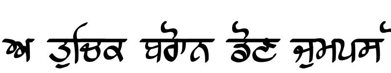 Preview of Raajaa Script Medium Medium